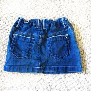 Zara Bottoms - Zara Kids Jean Skirt Girls Size 5-6 Adjustable